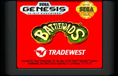 Battletoads - Cart - Front