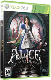 Alice: Madness Returns - Box - 3D