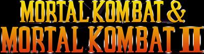 Mortal Kombat & Mortal Kombat II - Clear Logo