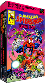 The Amazing Spider-Man: Lethal Foes - Box - 3D