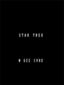 Star Trek Debugged - Screenshot - Game Title