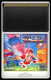 Legend of Hero Tonma - Fanart - Cart - Front