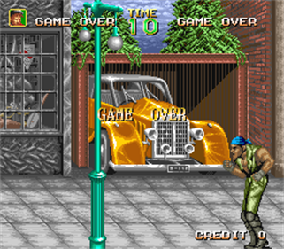 64th. Street: A Detective Story - Screenshot - Game Over