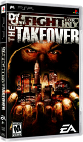 Def Jam Fight for NY: The Takeover - Box - 3D