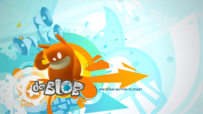 de Blob - Screenshot - Game Title