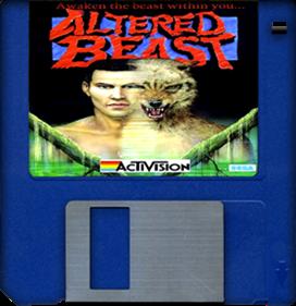 Altered Beast - Fanart - Disc