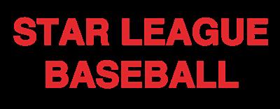 Star League Baseball - Clear Logo