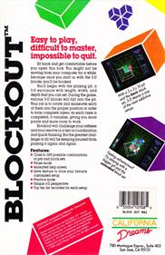 Blockout - Box - Back