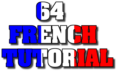 64 French Tutorial - Clear Logo