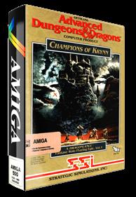 Champions of Krynn - Box - 3D
