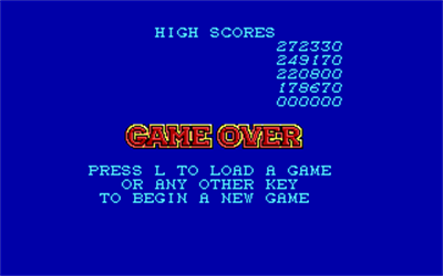 NightHunter - Screenshot - Game Over