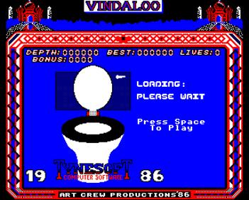 Vindaloo - Screenshot - Game Title