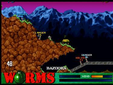 Worms - Screenshot - Gameplay