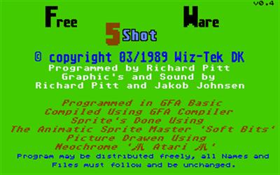 5 Shot - Screenshot - Game Title