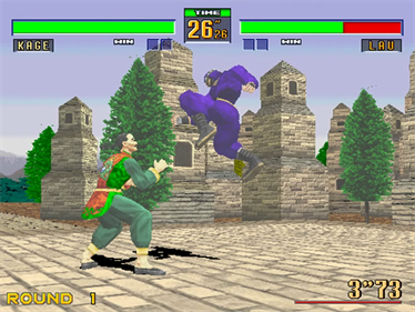 Virtua Fighter 2 - Screenshot - Gameplay