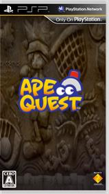 Ape Quest - Fanart - Box - Front