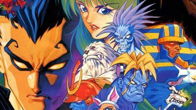 Night Warriors: Darkstalkers' Revenge - Fanart - Background
