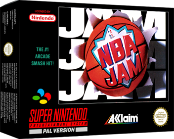NBA Jam - Box - 3D