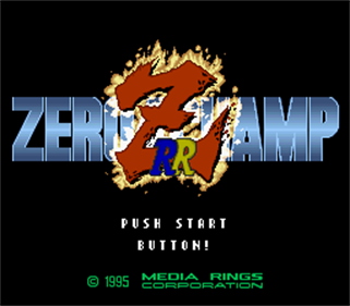 Zero4 Champ RR-Z - Screenshot - Game Title