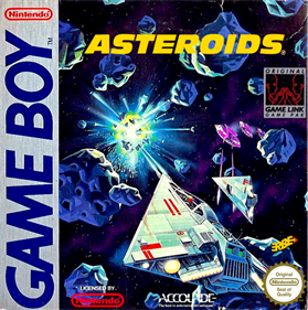 Asteroids - Box - Front