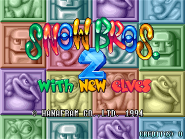 Snow Bros. 2: With New Elves - Screenshot - Game Title