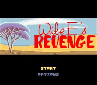 Road Runner II: Wile E's Revenge - Screenshot - Game Title