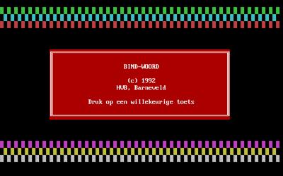 Bind-Woord - Screenshot - Game Title