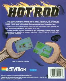 Hot Rod - Box - Back