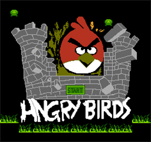 Angry Birds - Screenshot - Game Title