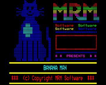 Banana Man - Screenshot - Game Title