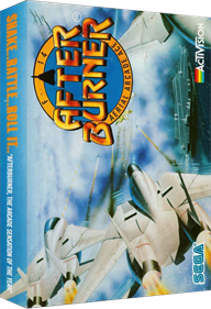 After Burner - Box - 3D