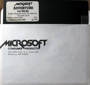 Microsoft Adventure - Disc