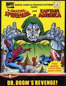 The Amazing Spider-Man and Captain America in Dr. Doom's Revenge! - Box - Front