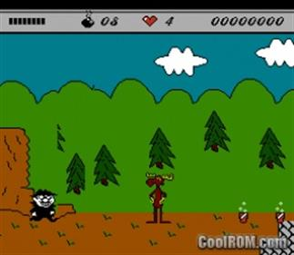 The Adventures of Rocky and Bullwinkle and Friends - Screenshot - Gameplay