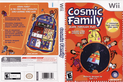 Cosmic Family - Box - Back