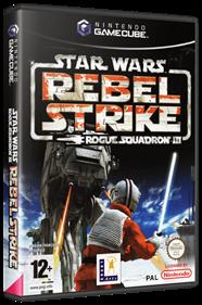 Star Wars Rogue Squadron III: Rebel Strike - Box - 3D