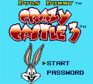Bugs Bunny: Crazy Castle 3 - Screenshot - Game Title