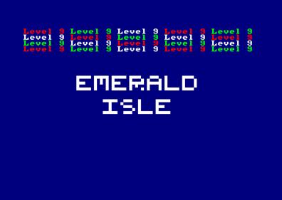 Emerald Isle  - Screenshot - Game Title