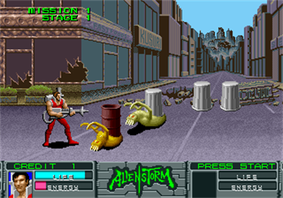 Alien Storm - Screenshot - Gameplay