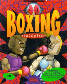 4-D Boxing - Box - Front