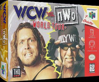 WCW Vs. nWo: World Tour - Box - 3D