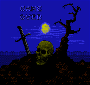 The Legend of Robin Hood - Screenshot - Game Over