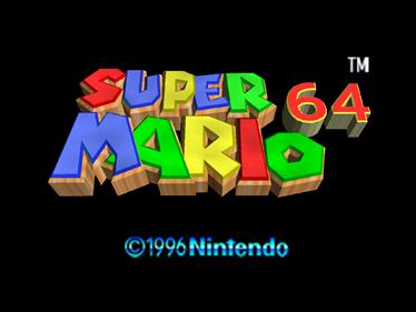 Super Mario 64 - Screenshot - Game Title