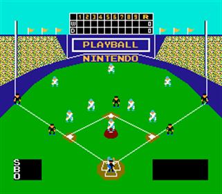 Baseball - Screenshot - Gameplay