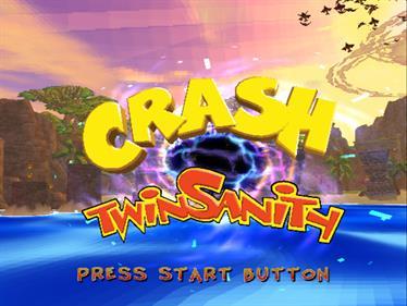 Crash Twinsanity - Screenshot - Game Title