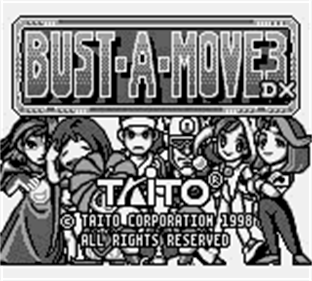 Bust-A-Move 3 DX - Screenshot - Game Title