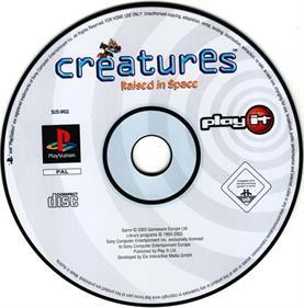 Creatures: Raised in Space - Disc