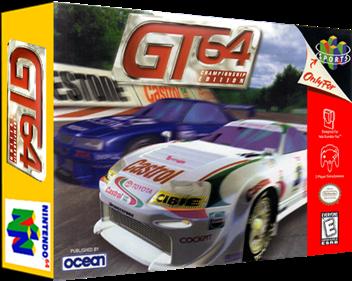 GT 64: Championship Edition - Box - 3D