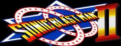Sonic Blast Man II - Clear Logo