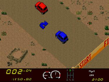 Power Drive - Screenshot - Gameplay